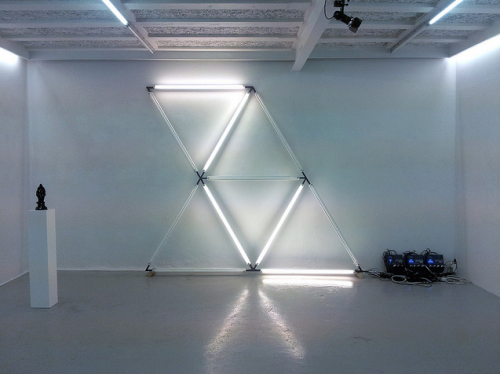Prime Hex by Marius Watz Photographed by James Bedell