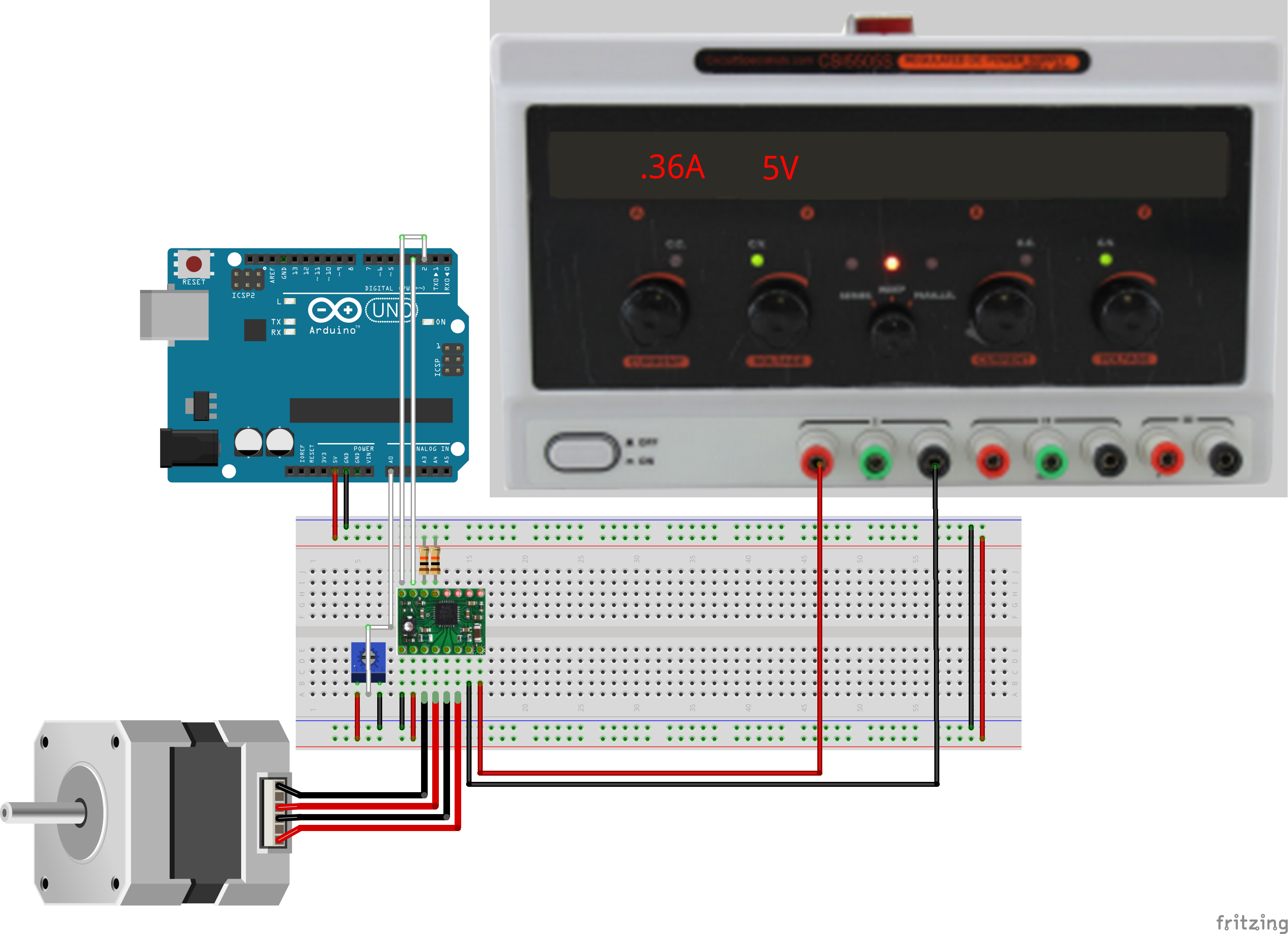 BLDC Motor Control with Arduino -Use Arduino for