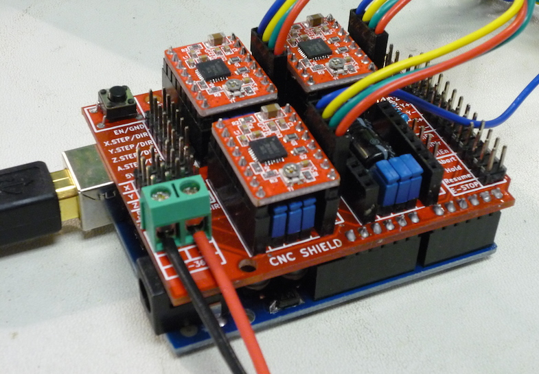 62 CNC Arduino Shield     Robotics for Creative Practice