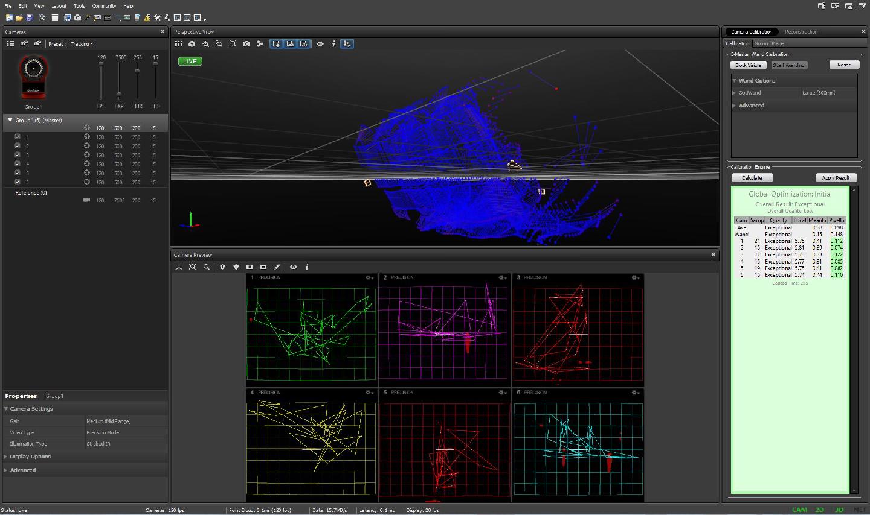 dFAB Optitrack Setup and Calibration — Human-Machine Virtuosity