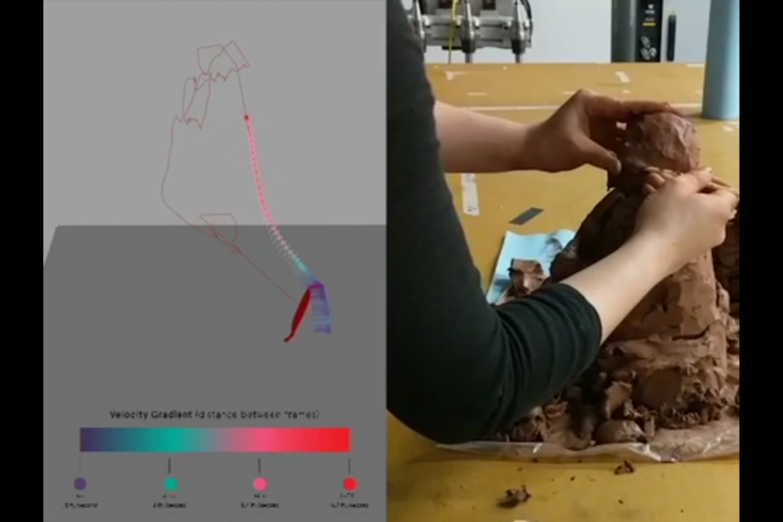 SculptMotion: Analyzing the Skill of Clay Sculpting