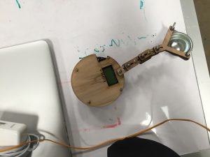 Initial prototype. T