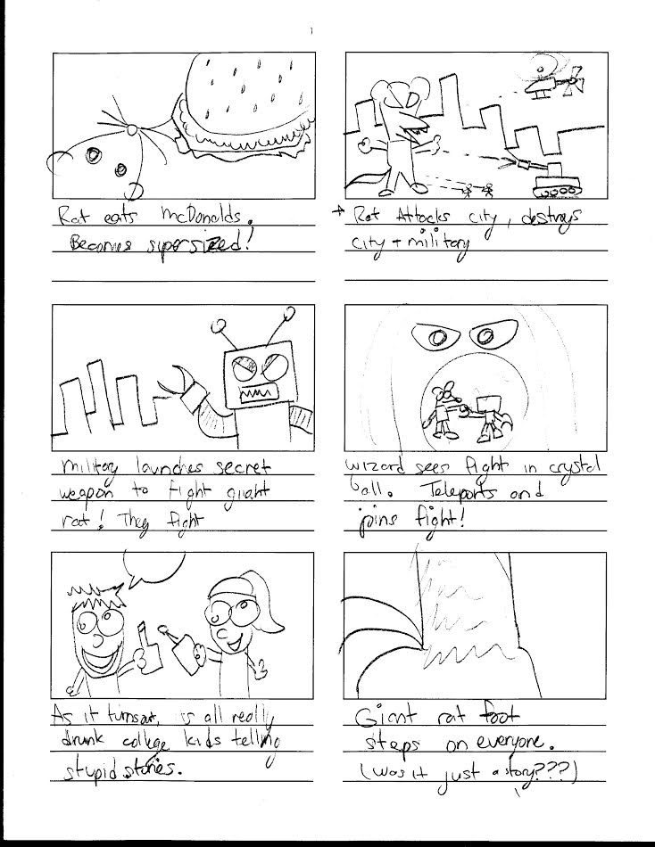 Project  Storyboard And Proposal  Monster Melange Melee