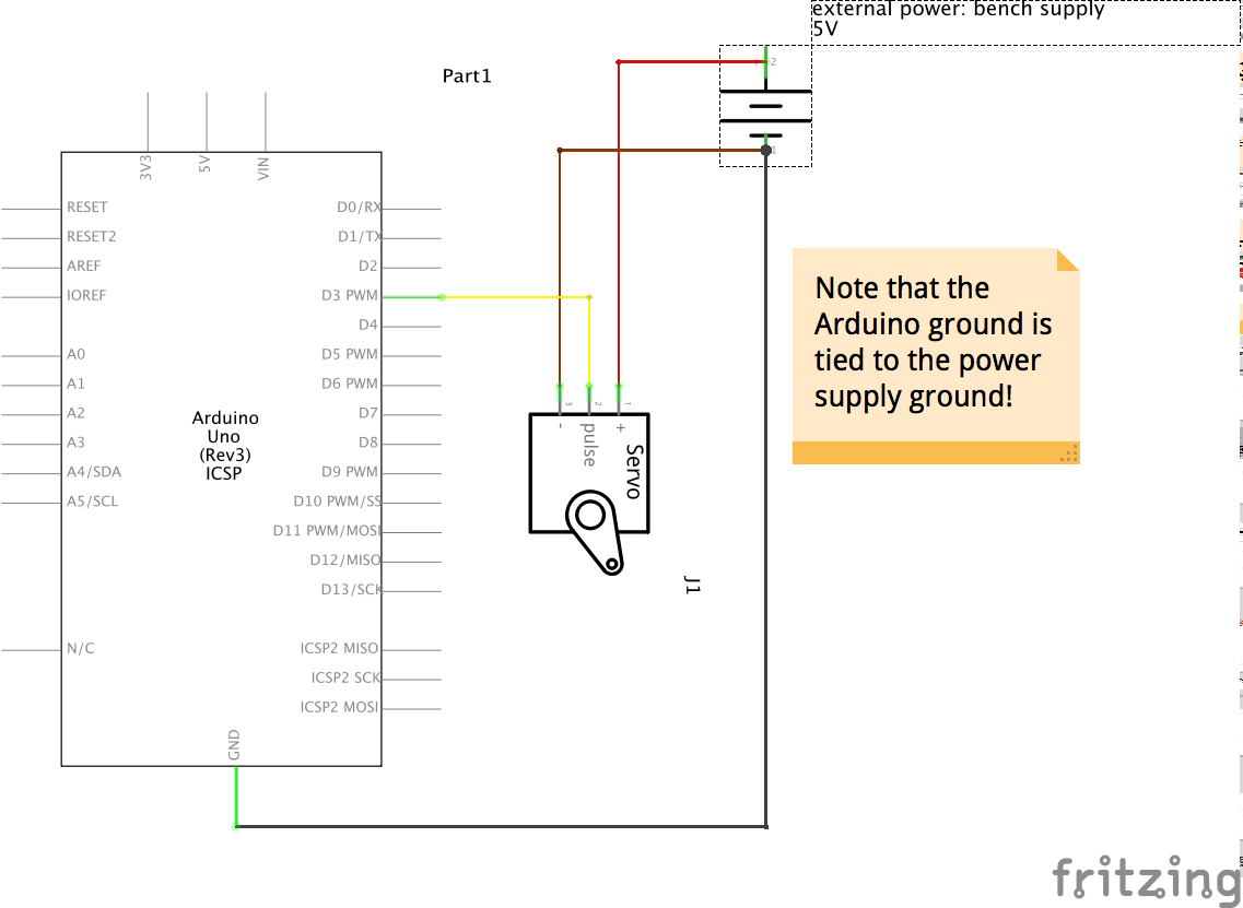 Hobby Servo Motor Schematics Electrical Wiring Diagrams Arduino Circuit Page 8 Microcontroller Circuits Nextgr 99 355 Using A Servomotor Rotor Code To Move The Around