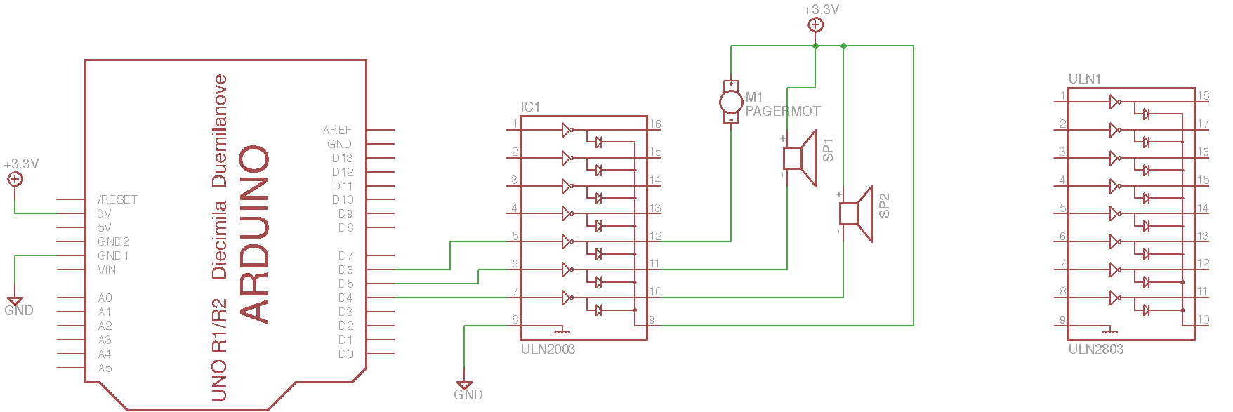Exercise Multichannel Bipolar Transistor Driver Intro To Arduino Relay Circuit Schematic Images