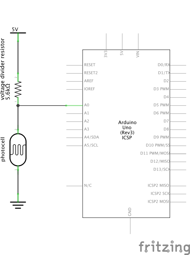 Reading a photoresistor: how light is it? — Intro to Arduino